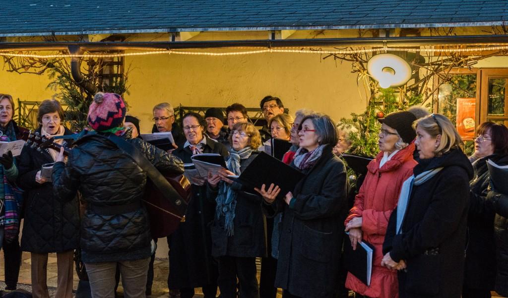 Adventzauber im Salettl des Stiftskellers 13.12.2015